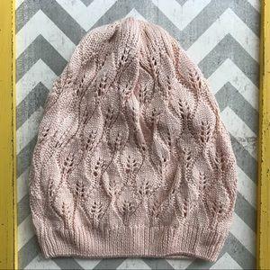 PacSun Beige Lightweight Knit Beanie Hat